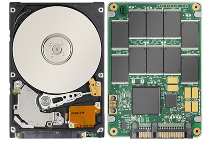 SDD vs HDD | difference between Solid State Storage and Hard Drives