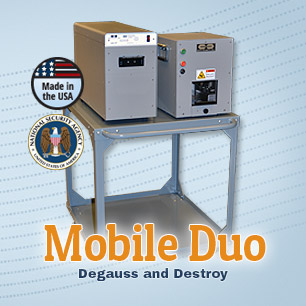 Mobil Degausser and Destruction Duo