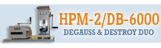 HPM-2 and DB-6000 Degauss and Destroy Duo